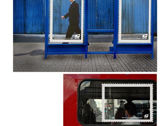 USPS Ambient Ad -  Frames