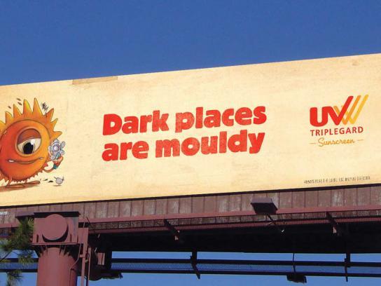 UV Tripleguard Outdoor Ad -  Mouldy