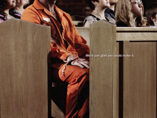 The United Church of Canada Print Ad -  Convict