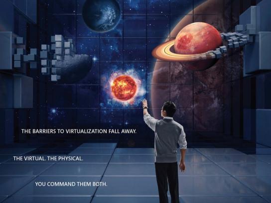 Microsoft Print Ad -  Universe