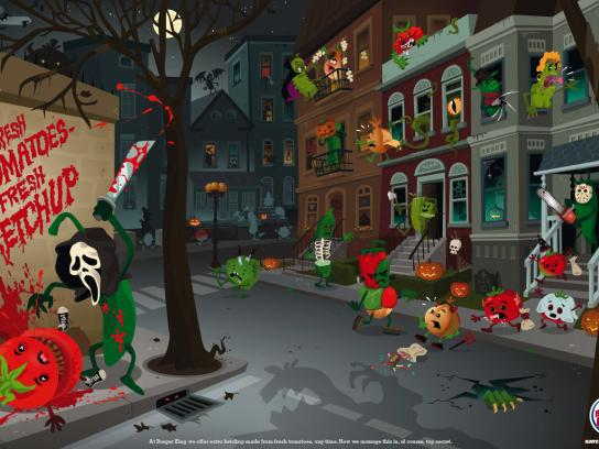 Veg City, Halloween