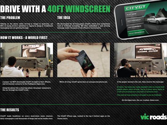 VicRoads Digital Ad -  CityGT