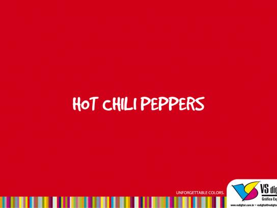 VS Digital Print Ad -  Red Hot Chili Peppers