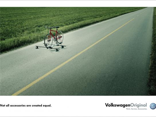 Volkswagen Print Ad -  Bike