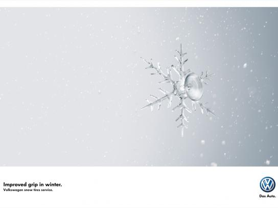 Volkswagen Print Ad -  Crystal