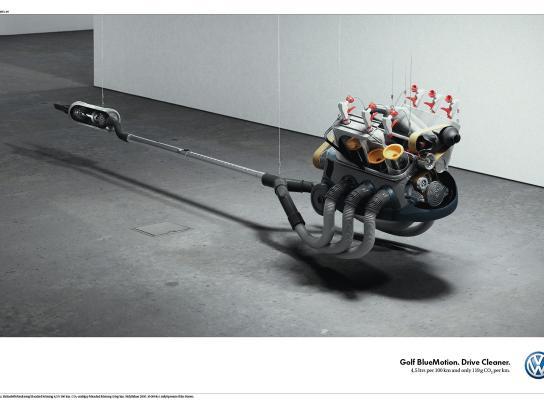Volkswagen Print Ad -  Clean