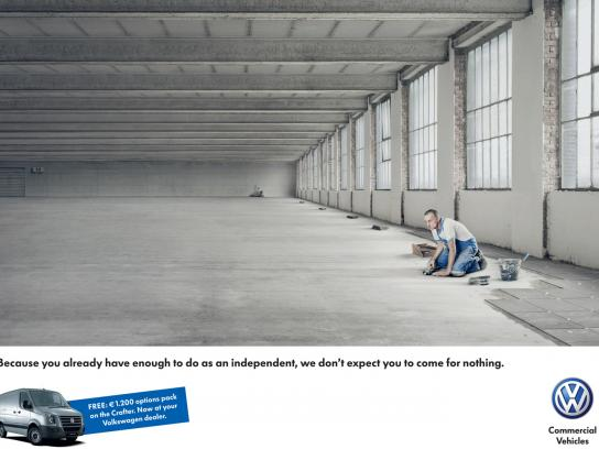 Volkswagen Print Ad -  Tiling