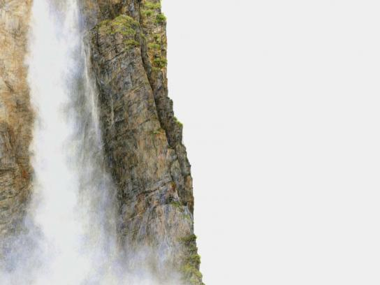 Volkswagen Print Ad -  The Angel Falls