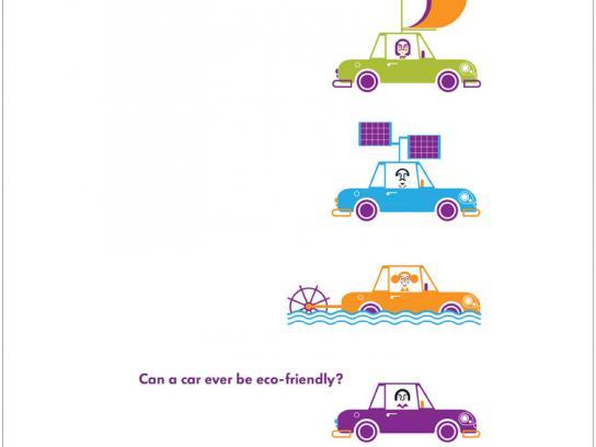 Volkswagen Print Ad -  Eco-friendly