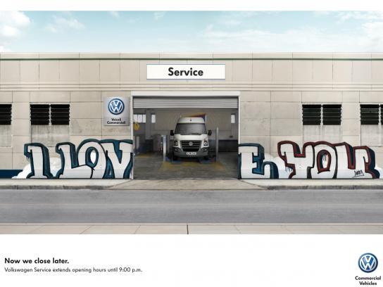 Volkswagen Print Ad -  Graffiti