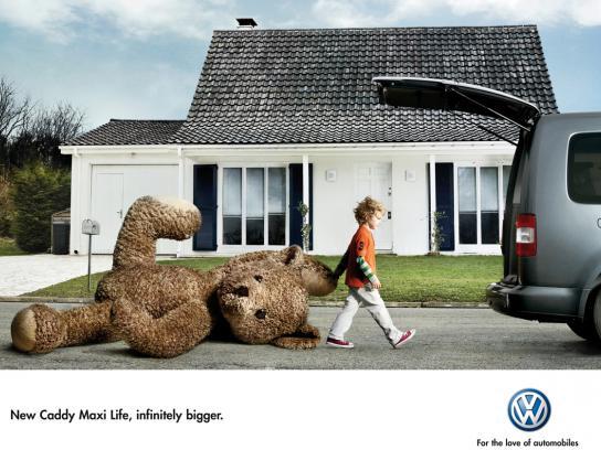 Volkswagen Print Ad -  Teddy