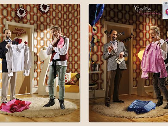 Dylon Print Ad -  Valentine's day - Anniversary