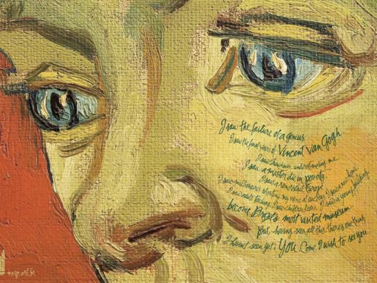 MASP Print Ad -  Van Gogh