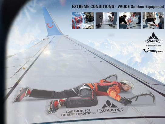 Vaude Ambient Ad -  Extreme conditions