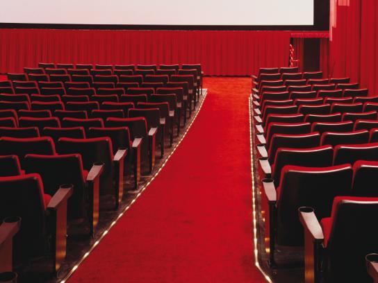 Veet Print Ad -  Movie theatre