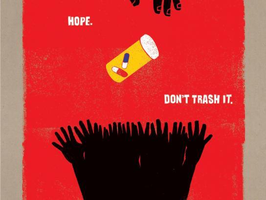 Viral Hope Print Ad -  Basket