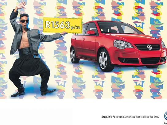 Volkswagen Print Ad -  Feels like the 90's, 3