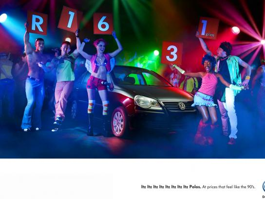 Volkswagen Print Ad -  Feels like the 90's, 2
