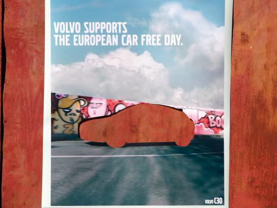 Volvo Outdoor Ad -  C30