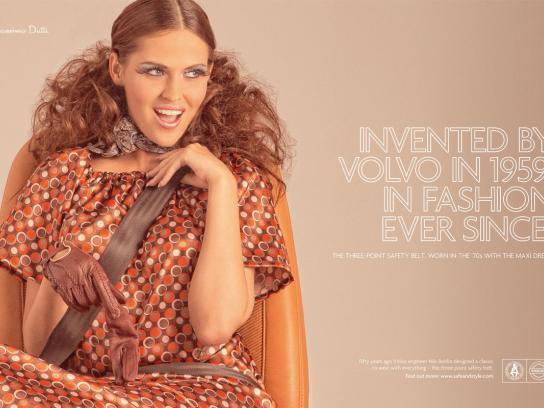 Volvo Print Ad -  1970's