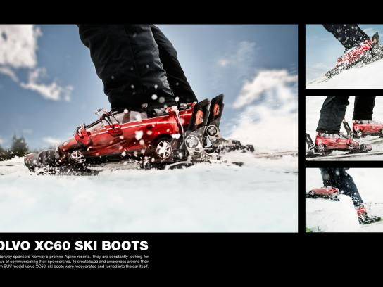 Volvo Ambient Ad -  Ski Boots