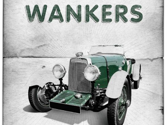 British Auto Service Print Ad -  Wankers