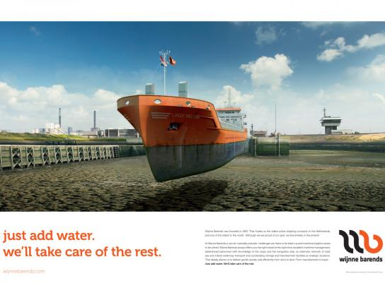 Wijnne Barends Print Ad -  Just add water, 3
