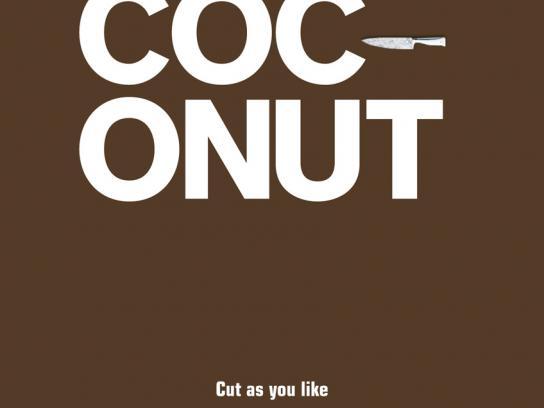 XXXLUTZ Print Ad -  Coconut