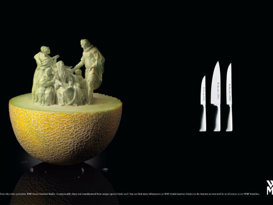 WMF Print Ad -  For those who value precision, 3