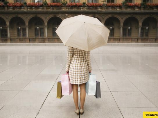 Wonderbra Print Ad -  Umbrella