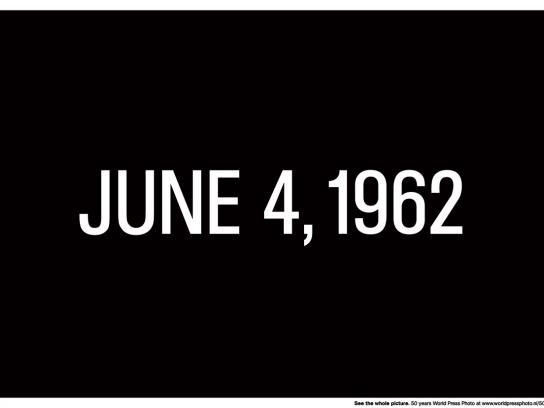 Important Dates - June 4, 1962