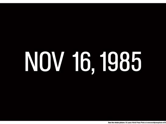Important Dates - Nov 16, 1985