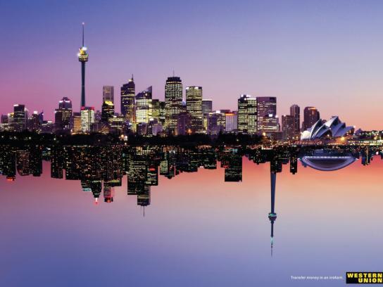 Western Union Print Ad -  Sydney/Toronto