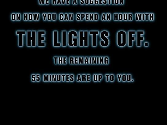 WWF Print Ad -  55 minutes