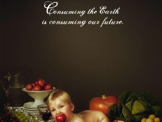 WWF Print Ad -  Baby