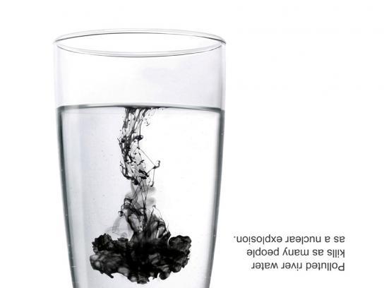 WWF Print Ad -  Water