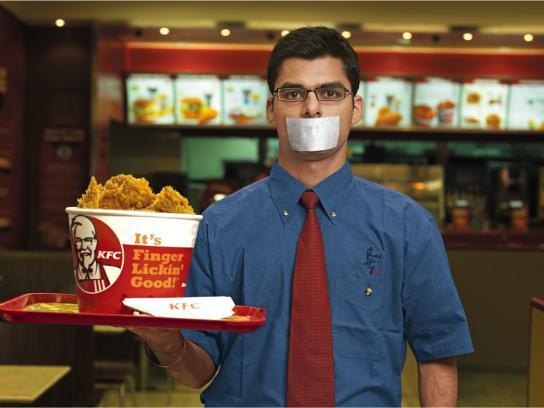 KFC Print Ad -  Waiter, 3