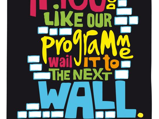 Jüdischer Salon am Grindel e.V. Print Ad -  Wall