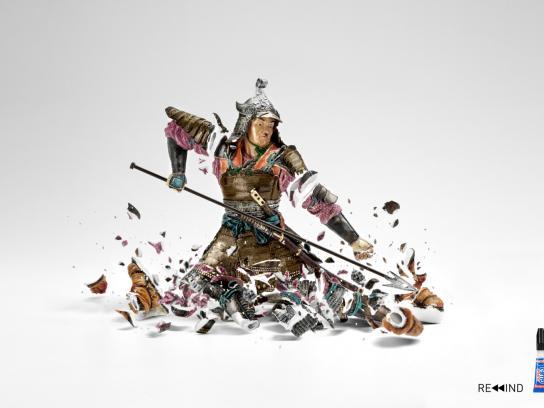 Loctite Print Ad -  Warrior