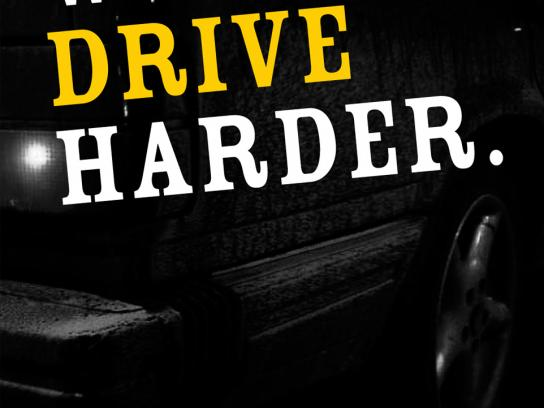 Lej Et Lig Print Ad -  We drive harder