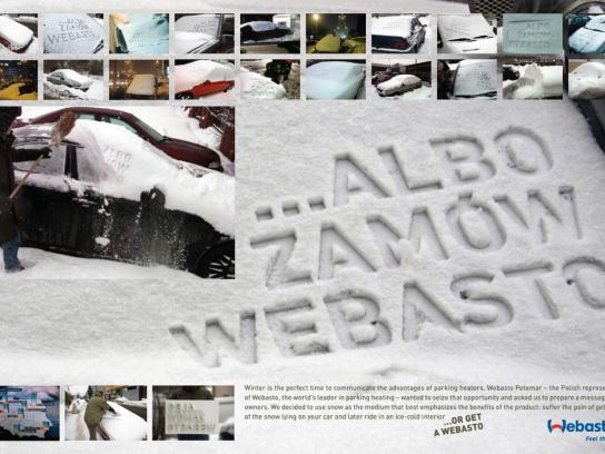 Webasto Ambient Ad -  Snow stamp