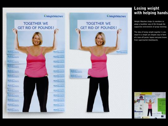 Weight Watchers Print Ad -  Bulges
