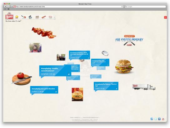 Wendy's Digital Ad -  Wendy's Realtime