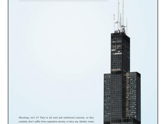 Chicago Now Print Ad -  Willis tower