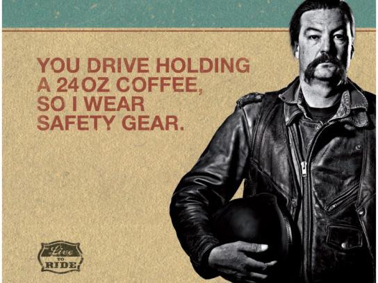 CDOT Outdoor Ad -  24oz coffee