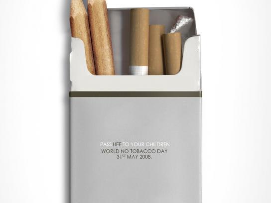 World No Tobacco Day Print Ad -  Life