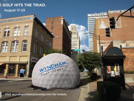 The Wyndham Championship Print Ad -  Street