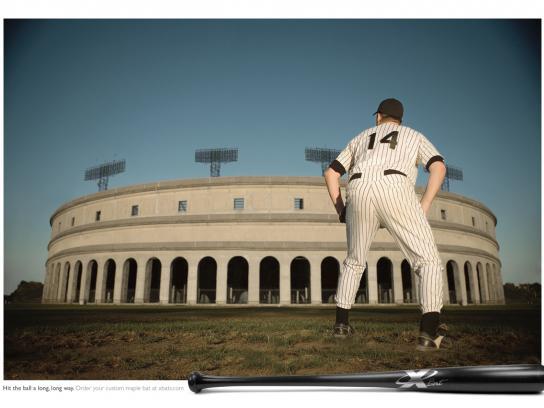 XBats Print Ad -  Stadium