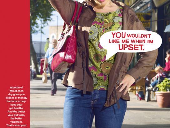 Yakult Print Ad -  Girl
