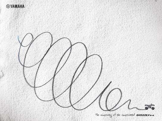 Yamaha Print Ad -  Simplicity, 3